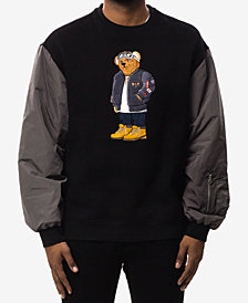 Hudson NYC Men's Aviator Bear Sweatshirt