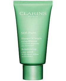 Clarins SOS Pure Rebalancing Clay Mask, 2.3-oz.