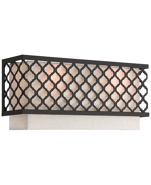 Livex Arabesque 2-Light Wall Sconce