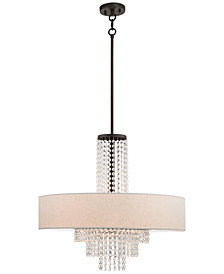 Livex Carlisle 5-Light Pendant Chandelier