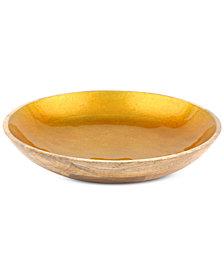 CLOSEOUT! Thirstystone Enamel & Wood Bowl