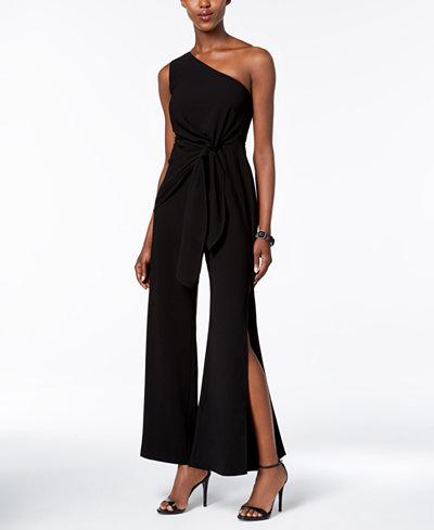 Bardot One-Shoulder Jumpsuit