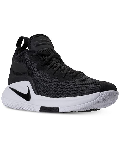 493fa132dfe4 Nike Men s LeBron Witness II Basketball Sneakers from Finish Line ...