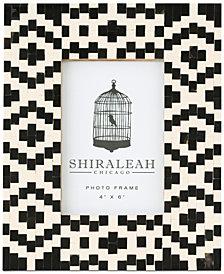 Shiraleah Loft Geometric 4'' x 6'' Picture Frame
