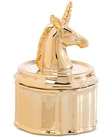 Shiraleah Small Unicorn Jewelry Jar