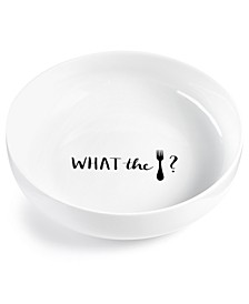 Words Fork Dinner Bowl, Created for Macy's