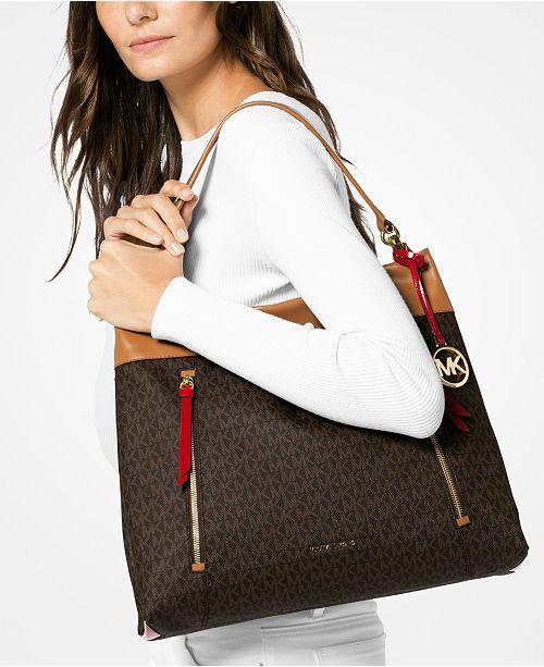 33cb15c31097 Michael Kors Signature Lex Large Hobo & Reviews - Handbags ...
