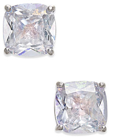 kate spade new york Speckled Cubic Zirconia Square Stud Earrings