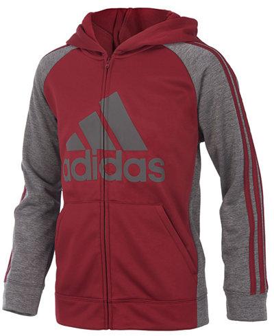 adidas Game Day Hooded Zip-Up Jacket, Toddler Boys