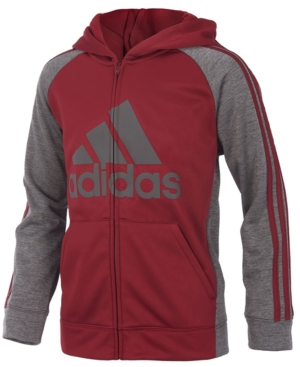 adidas Game Day Hooded ZipUp Jacket Little Boys