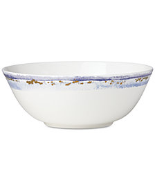 Lenox Watercolor Horizons Serving Bowl, Created for Macy's