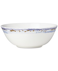 Lenox Watercolor Horizons Microwave Safe Serving Bowl, Created for Macy's