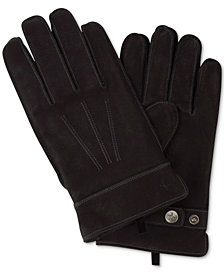 Original Penguin Men's Leather Dart Gloves