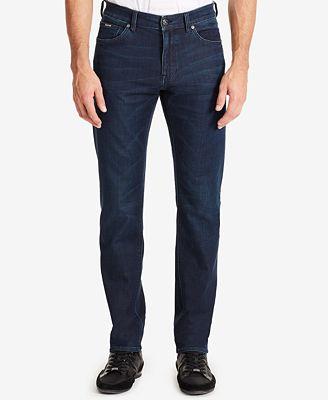 BOSS Men's Regular/Classic-Fit 8.5-oz. Stretch Jeans