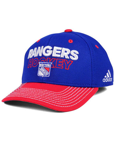 adidas New York Rangers Locker Room Structured Flex Cap