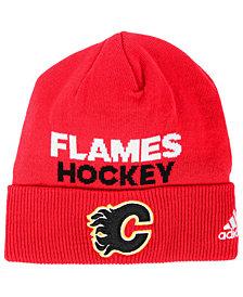 adidas Calgary Flames Player Knit