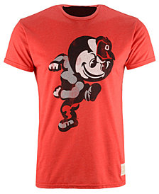 Retro Brand Men's Ohio State Buckeyes Brutus Running T-Shirt