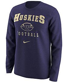 Nike Men's Washington Huskies Retro Long Sleeve T-Shirt