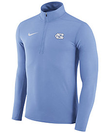 Nike Men's North Carolina Tar Heels Element Quarter-Zip Pullover