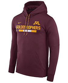 Nike Men's Minnesota Golden Gophers Therma-Fit Sideline Hoodie