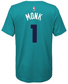 Malik Monk Charlotte Hornets Icon Name & Number T-Shirt, Big Boys (8-20)