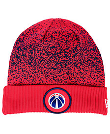 New Era Washington Wizards On Court Collection Cuff Knit Hat