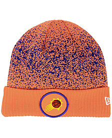 New Era Phoenix Suns On Court Collection Cuff Knit Hat