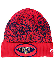 New Era New Orleans Pelicans On Court Collection Cuff Knit Hat