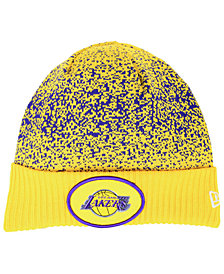 New Era Los Angeles Lakers On Court Collection Cuff Knit Hat