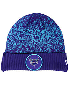 New Era Charlotte Hornets On Court Collection Cuff Knit Hat