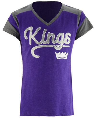 5th & Ocean Sacramento Kings Contrast Slub T-Shirt, Girls (4-16)
