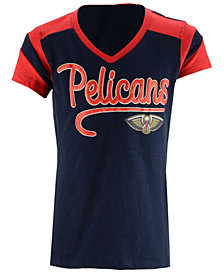 5th & Ocean New Orleans Pelicans Contrast Slub T-Shirt, Girls (4-16)