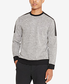 Kenneth Cole Reaction Men's Colorblocked Textured Sweatshirt