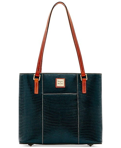 Dooney   Bourke Lizard-Embossed Leather Small Lexington Tote ... 506ff8a02a550