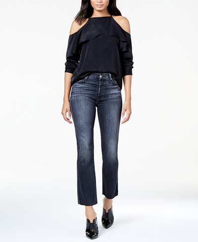 7 For All Mankind Edie with Raw-Hem Jeans