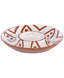 Shiraleah Braga Chip & Dip Platter
