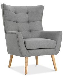 Neilan Club Chair, Quick Ship