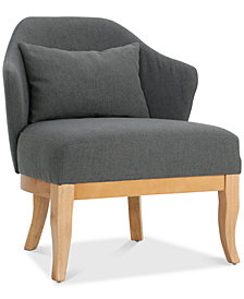 Orwen Wingback Club Chair, Quick Ship