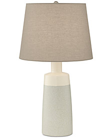 Pacific Coast Cool Grey Ceramic Table Lamp