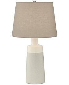 Pacific Coast Cool Grey Ceramic Table Lamp