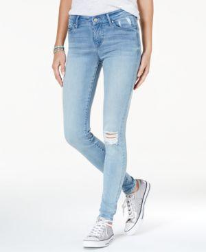 Celebrity Pink Juniors' Distressed Skinny Jeans 5229040