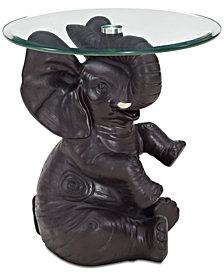 Ernie Elephant Side Table, Quick Ship