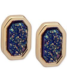 Ivanka Trump Gold-Tone Glittery Stud Earrings