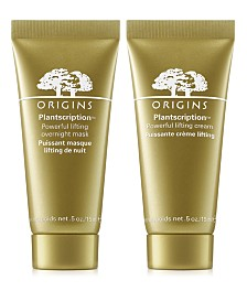 Receive a FREE Plantscription Anti-Aging Duo with $65 Origins Purchase! (A $32 Value!)