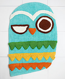 Creative Bath Rug, Give a Hoot