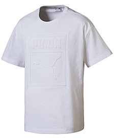 Puma Men's Archive Embossed Logo T-Shirt