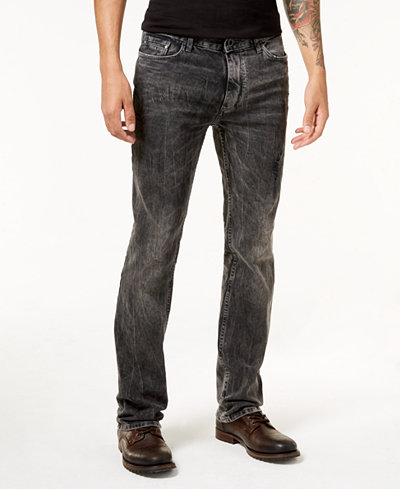 Calvin Klein Jeans Men's Slim-Straight Fit Stretch Jeans