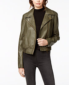 Free People Modern Vegan Bomber Jacket