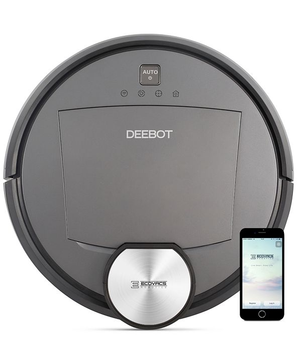 ECOVACS Robotics DEEBOT DR95 Alexa-Enabled Smart Vacuum Cleaner