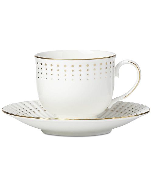 Lenox Golden Waterfall Tea Cup/Saucer